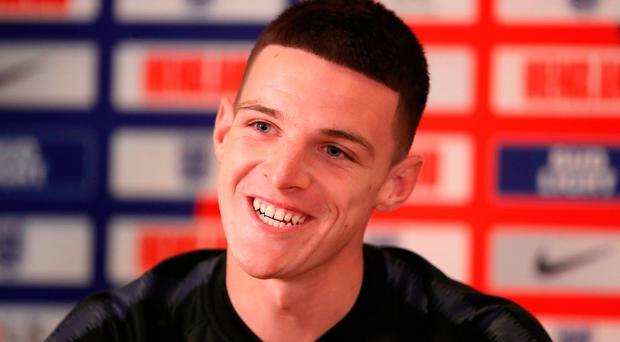 Going places: Declan Rice is excited by England's youth