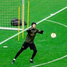 Gearing up: Retiring goalkeeper Petr Cech could start in Baku