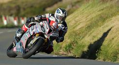 28/05/2019: Michael Dunlop (1000 BMW/MD Racing) at Guthrie's during Tuesday evening's Isle of Man TT qualifying session. PICTURE BY DAVE KNEEN/PACEMAKER PRESS.