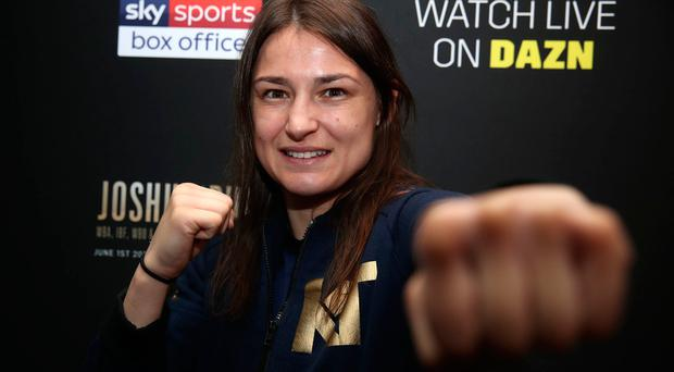 Katie Taylor will fight Delfine Persoon in New York this weekend.
