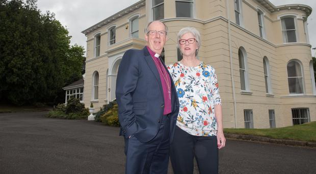 Bishop Ken Good with wife Mary