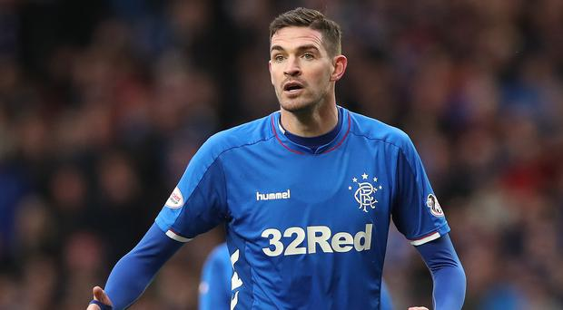 Little impact: Kyle Lafferty has struggled at Rangers