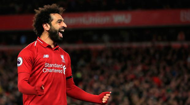 Raring to go: Mohamed Salah