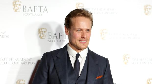 Sam Heughan will receive an honorary doctorate from the University of Glasgow (Jane Barlow/PA)