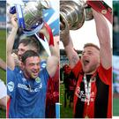 Ballymena United's Andy McGrory, Linfield captain Jamie Mulgrew, Crusaders' David Cushley and Cliftonville's Joe Gormley are all looking forward to European action.