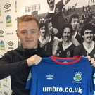 Shayne Lavery has signed for Linfield. Picture credit: Linfield FC