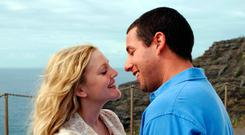 Adam Sandler and Drew Barrymore had a few problems in the movie 50 First Dates