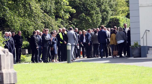 Mandatory Credit - Picture by Freddie Parkinson © Monday 3 June 2019 Funeral of Derek Patterson - Northern Ireland gastropub pioneer who died aged 53