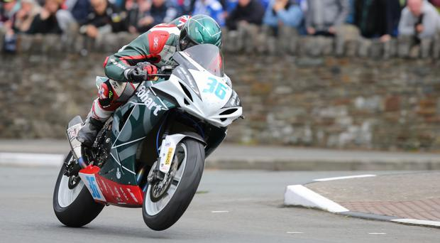 Daley Mathison in action at last year's Isle of Man TT (Philip Magowan / PressEye)