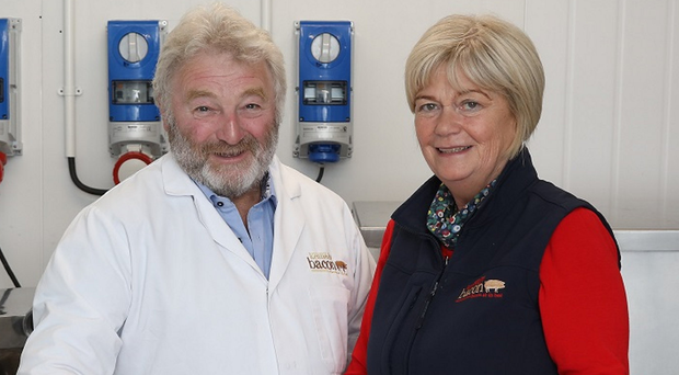 Mervyn and Marion Kennedy of Kennedy Bacon in Omagh