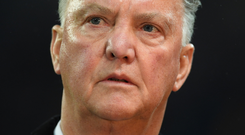Hitting out: Louis van Gaal has blasted his former employers