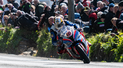 Early victor: Peter Hickman at Gorse Lee