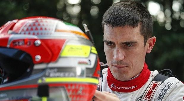 More power: Craig Breen is opting for a WRC Ford Fiesta to take on the challenge of the Donegal Rally