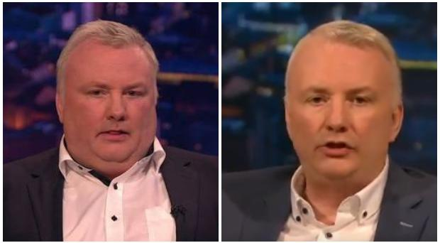 BBC presenter Stephen Nolan has shed the pounds.