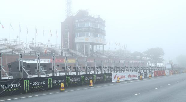 Poor weather has wreaked havoc with this year's Isle of Man TT schedule.