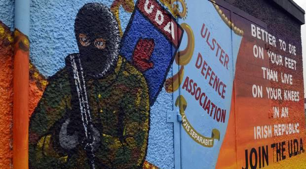 The PSNI carried out a series of raids in connection with the activity of the West Belfast UDA on Monday