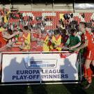 The future of the Danske Bank Premiership's Europa League play-offs, won this year by Cliftonville, is in doubt as the league is set to lose a European spot for the 2020/21 season.