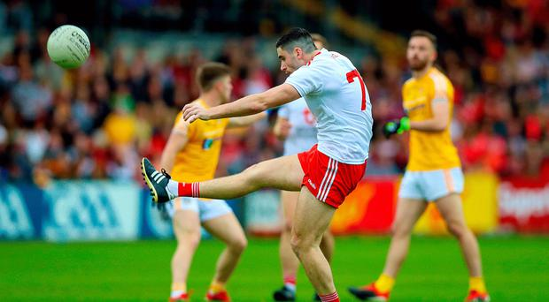 Flying high: Michael Cassidy is fired up to face Donegal
