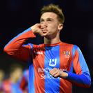 Shevlin spent a spell on loan at Ards in 2017.