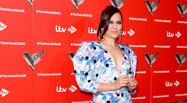 Jessie J at the Voice Kids launch (Isabel Infantes/PA)