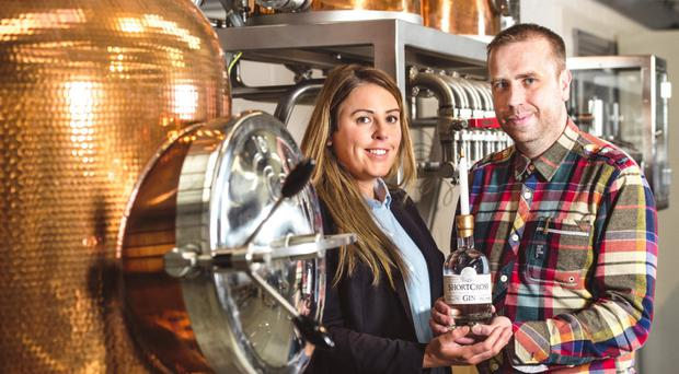 Fiona and David Boyd-Armstrong of Rademon Estate Distillery, which sells gin to markets in Latin America, the Middle East and beyond
