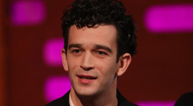 Lead singer and guitarist Matty Healy, from The 1975, has been honoured for his support of the LGBT community (Isabel Infantes/PA)