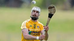 Shooting star: Neil McManus will carry a big burden today
