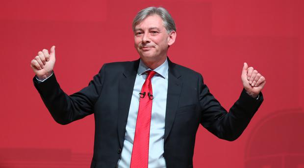 Richard Leonard welcomed the party's decision to support a vote on any Brexit deal (Andrew Milligan/PA)