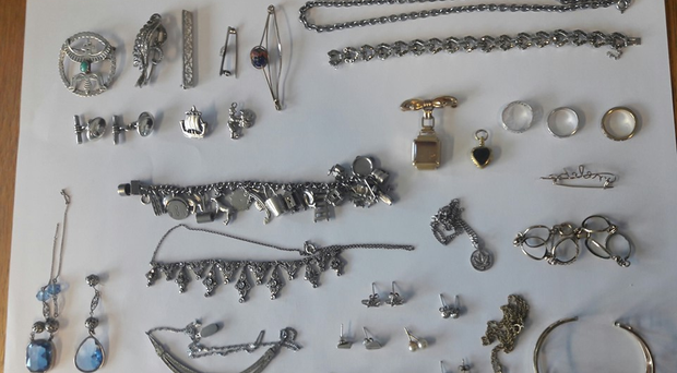 A selection of items recovered by police. Credit: PSNI Antrim