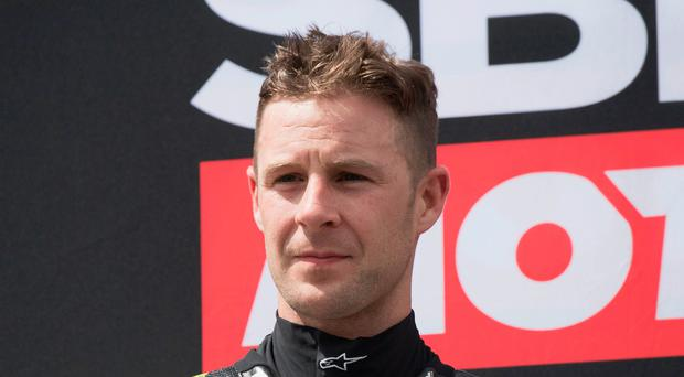 Jonathan Rea finished second in Sunday's race