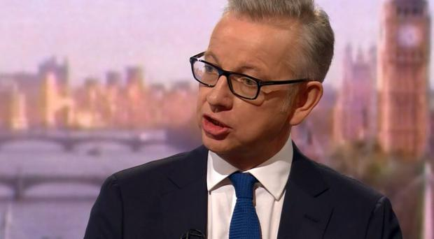 Michael Gove is bidding to become the next Prime Minister. Credit: BBC