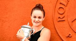 Motivated: French Open champion Ashleigh Barty