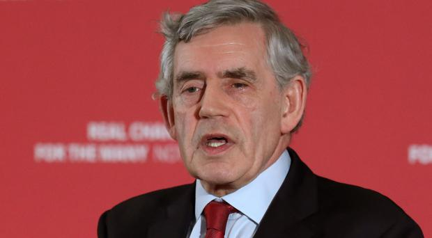 Gordon Brown (Andrew Milligan/PA)