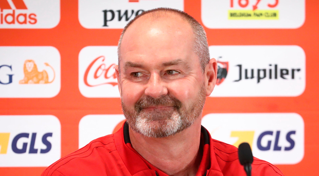 Thinking big: Steve Clarke would love to cause an upset