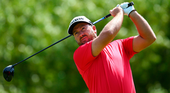 Coming home: Graeme McDowell has qualified for The Open in Portrush