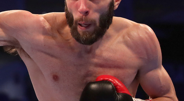 Big chance: Anthony Cacace will fight for glory in Falls Park