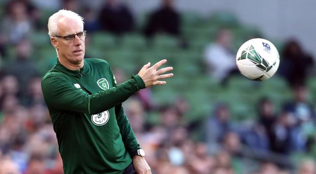 Republic of Ireland manager Mick McCarthy was satisfied with a hard-fought win over Gibraltar (Niall Carson/PA)