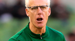 Being positive: Mick McCarthy