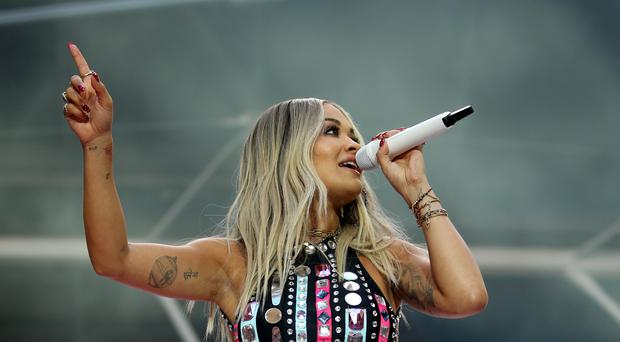 Rita Ora will perform during the event (Isabel Infantes/PA)