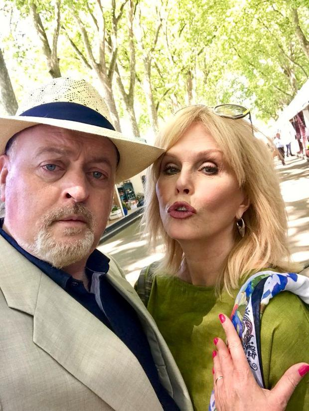 Bill Bailey and Joanna Lumley