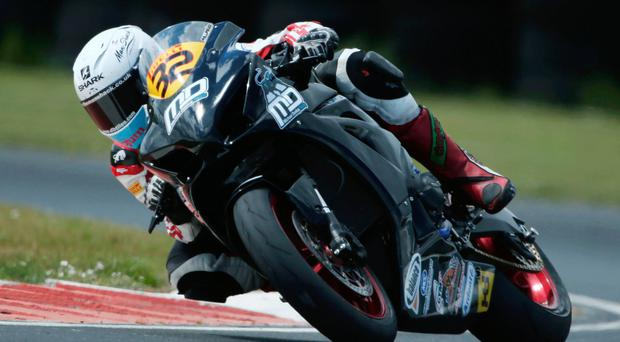 Leading man: Carl Phillips leads Ulster Superbike Championship going into Saturday's next round at Bishopscourt