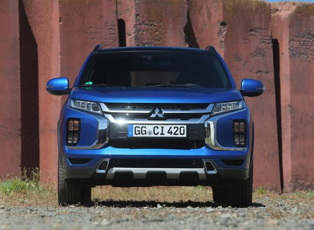 Dynamic shield: Mitsubishi ASX gets slick new makeover ahead of
