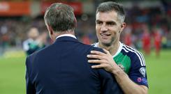 Aaron Hughes has been praised by plenty of ex team-mates after announcing his retirement.