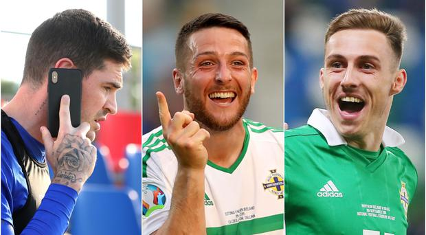 Kyle Lafferty, Conor Washington and Gavin Whyte could all be moving to new clubs this summer.
