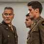 George Clooney with Christopher Abbott and Pico Alexander in the new adaptation of Joseph Heller's classic Catch-22