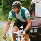 King of road: Seamus Downey in his cycling prime