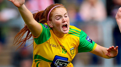 Switch: Shannon McLaughlin starts for Donegal