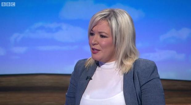 Michelle O'Neill says real negotiations need to take place in the Northern Ireland talks. Pic BBC