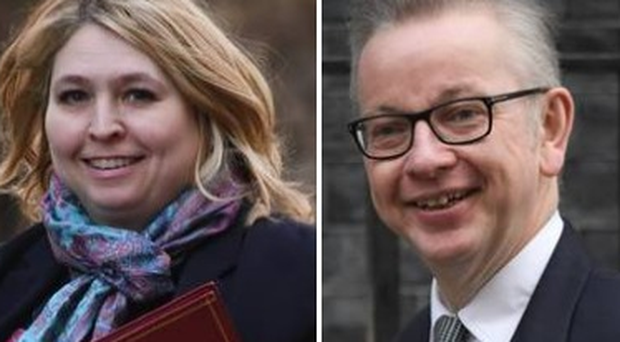 Karen Bradley has reportedly backed Michael Gove for Tory leader.