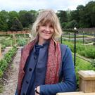 Garden splendour: Catherine FitzGerald at Hillsborough Castle